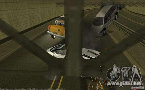 Accidente realista para GTA San Andreas segunda pantalla