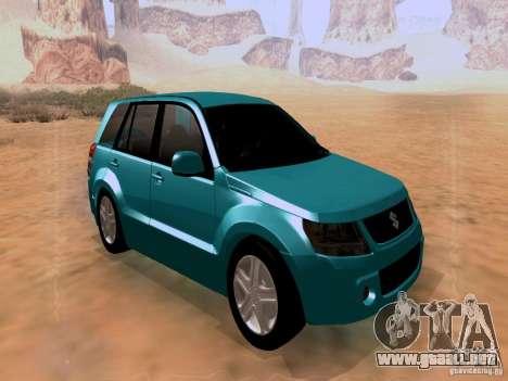 Suzuki Grand Vitara para la visión correcta GTA San Andreas