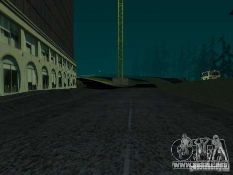 Nueva ciudad v1 para GTA San Andreas sexta pantalla