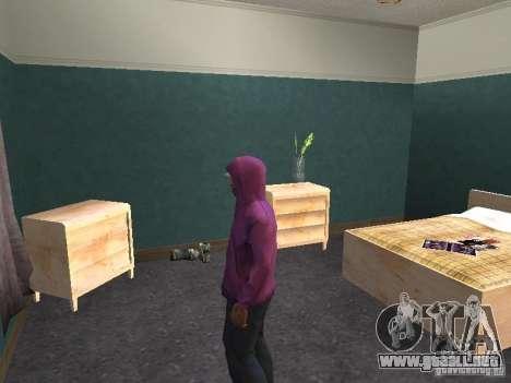 Campana para GTA San Andreas sexta pantalla