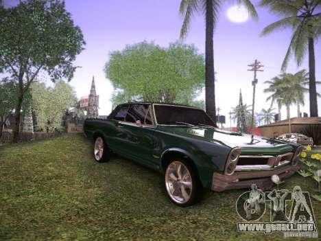 Pontiac GTO 65 para GTA San Andreas left