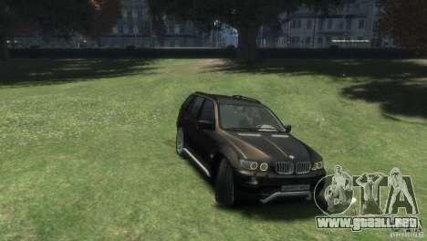 BMW X5 para GTA 4 visión correcta