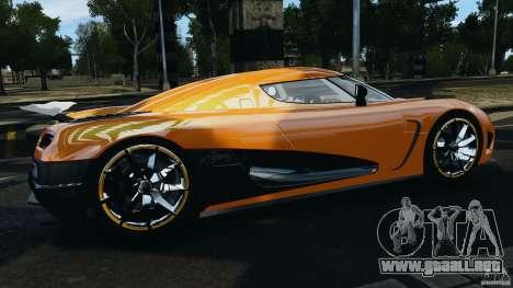 Koenigsegg Agera R v2.0 [EPM] para GTA 4 left