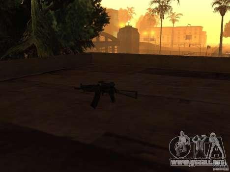 Armas nacionales Pak para GTA San Andreas quinta pantalla