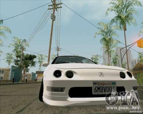 Acura Integra para la visión correcta GTA San Andreas