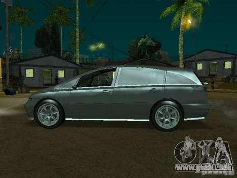 Planta perenne de GTA 4 para GTA San Andreas vista posterior izquierda