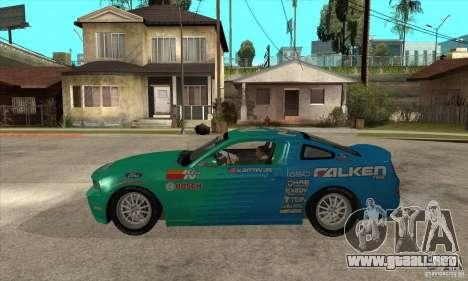Ford Mustang GT Falken para GTA San Andreas left