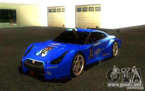 Nissan Skyline R35 GTR para GTA San Andreas
