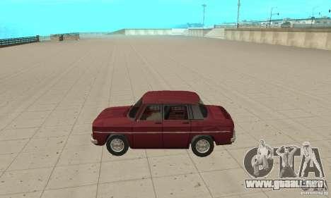 Dacia 1100 para GTA San Andreas left