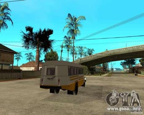 Pequeño KAVZ-39765 para la visión correcta GTA San Andreas
