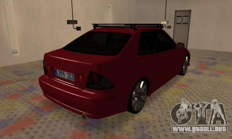 Lexus IS300 para GTA San Andreas left