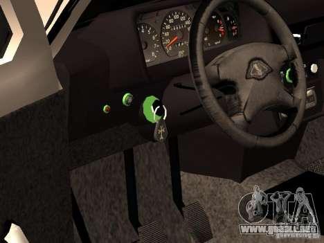 Armenian NIVA DORJAR 4 x 4 para visión interna GTA San Andreas
