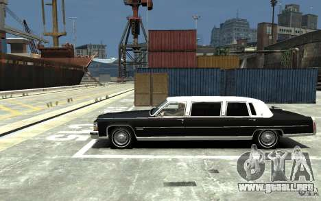 Cadillac Fleetwood Limousine 1985 [Final] para GTA 4 left