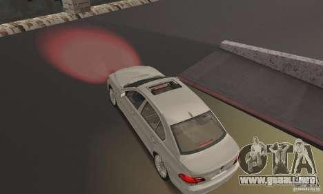 Luces rojas para GTA San Andreas