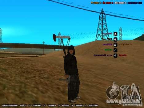 Traficante de drogas para GTA San Andreas tercera pantalla