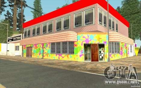 Una aldea nueva Dillimur para GTA San Andreas undécima de pantalla