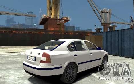 Skoda Octavia II 2005 para GTA 4 visión correcta