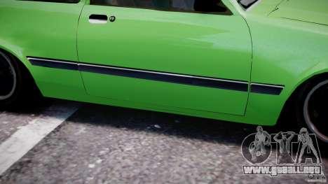 Chevrolet Chevette 1.6 1993 para GTA 4 vista desde abajo