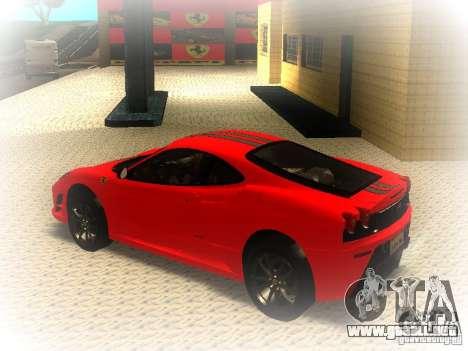 Ferrari 430 Scuderia TT Black Revel para GTA San Andreas left