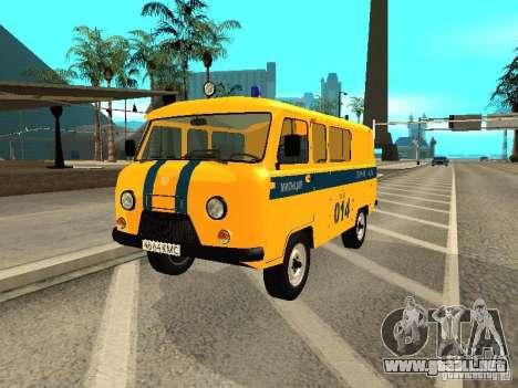 Policía 2206 UAZ para GTA San Andreas