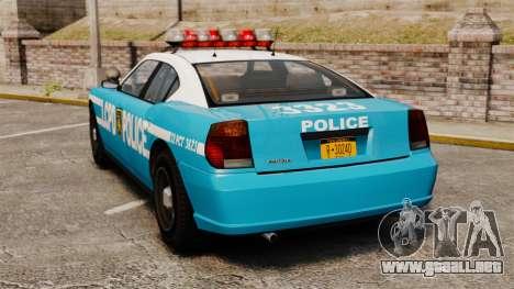 Bravado Buffalo ELS para GTA 4 Vista posterior izquierda