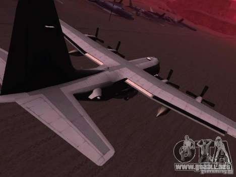 AC-130 Spooky II para GTA San Andreas left