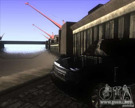 Enbsereis 0.74 (Dark 2) para GTA San Andreas segunda pantalla