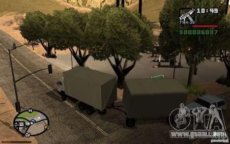 Tablero de instrumentos activos v3.2 (b) para GTA San Andreas sexta pantalla
