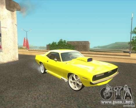 Plymouth Barracuda para GTA San Andreas