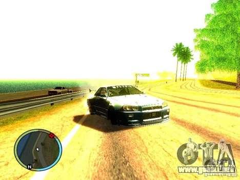 Nissan Skyline B324R para GTA San Andreas left
