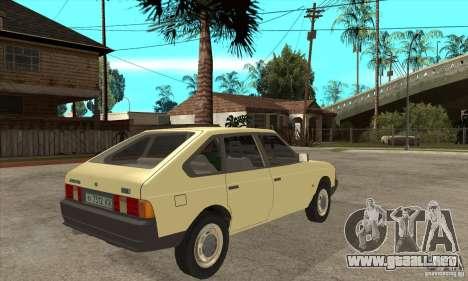 AZLK 2141 para la visión correcta GTA San Andreas