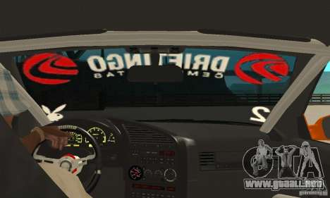 BMW Alpina B8 WideBody para la visión correcta GTA San Andreas