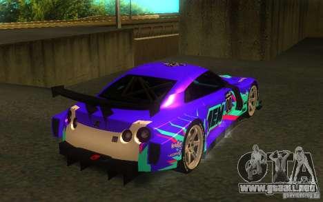 Nissan Skyline R35 GTR para la visión correcta GTA San Andreas