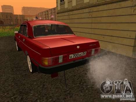 Volga GAZ 31029 Sl para la visión correcta GTA San Andreas