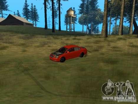 Toyota Avensis TRD Tuning para visión interna GTA San Andreas