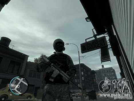 La M4a1 para GTA 4 tercera pantalla