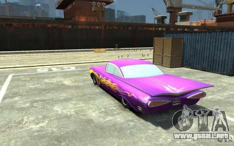 Raymone de Cars Mater-National para GTA 4 Vista posterior izquierda