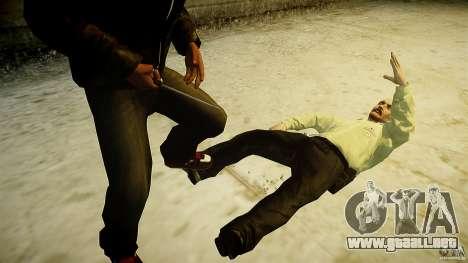 B.A.K. Knife para GTA 4 quinta pantalla