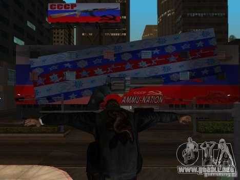 Russian Ammu-nation para GTA San Andreas tercera pantalla