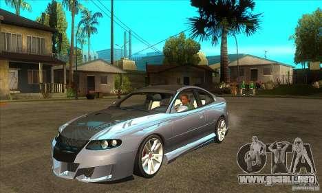 Holden Monaro CV8-R Tuned para GTA San Andreas