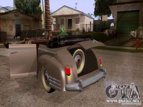 ZiS-110b Phaeton para visión interna GTA San Andreas