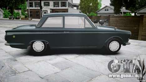 Lotus Cortina S 1963 para GTA 4 vista superior