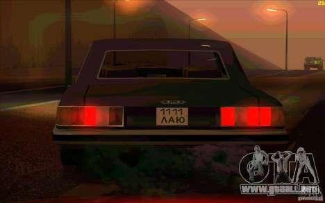 ZIL 41041 para la visión correcta GTA San Andreas