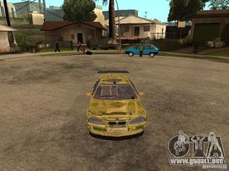 BMW M3 Goldfinger para la visión correcta GTA San Andreas