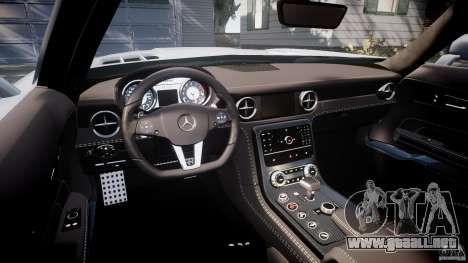Mercedes-Benz SLS AMG 2010 [EPM] para GTA 4 vista hacia atrás
