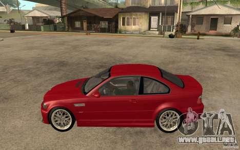 BMW M3 CSL para GTA San Andreas left