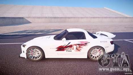 Calma Honda S2000 Tuning 2002 3 piel para GTA 4 left