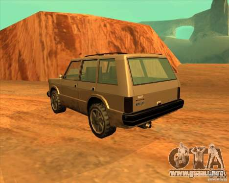 Huntley 1987 San Andreas Stories para GTA San Andreas left