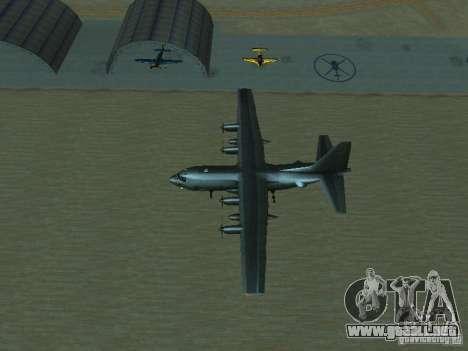 AC-130 Spooky II para la vista superior GTA San Andreas