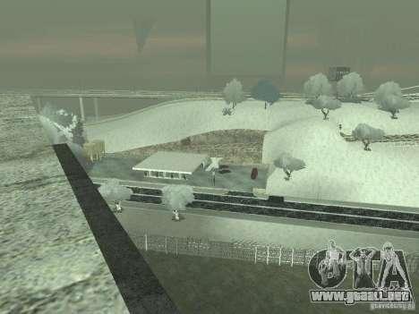 Nieve v 2.0 para GTA San Andreas sexta pantalla